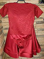 Комплект боди гипюр+юбка, рукав 1/4 (34 размер), фото 1