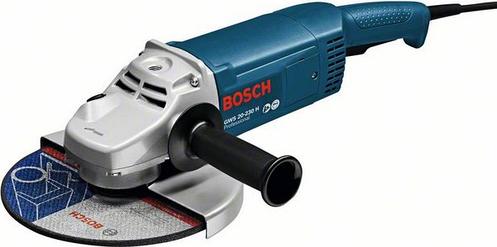 Угловая шлифмашина BOSCH GWS 20-230 H Professional 0601850107, фото 2