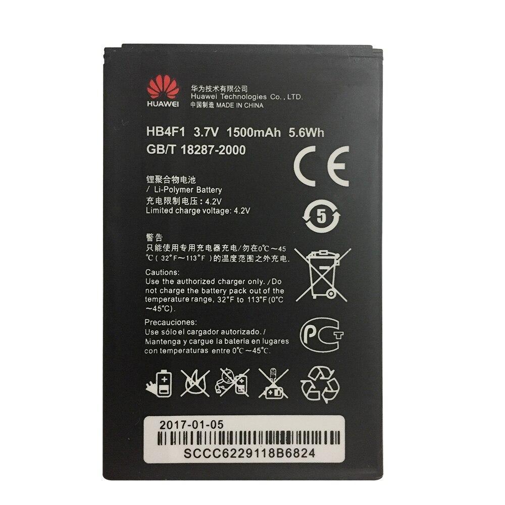 Заводской аккумулятор для Роутера 3G WiFi Huawei EC5321 (HB4F1, 1500 mAh)