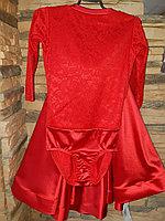 Комплект боди гипюр+юбка, рукав 3/4 (36 размер), фото 1