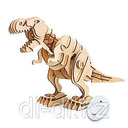 Деревянный 3D конструктор Robotime Динозавр T-Rex