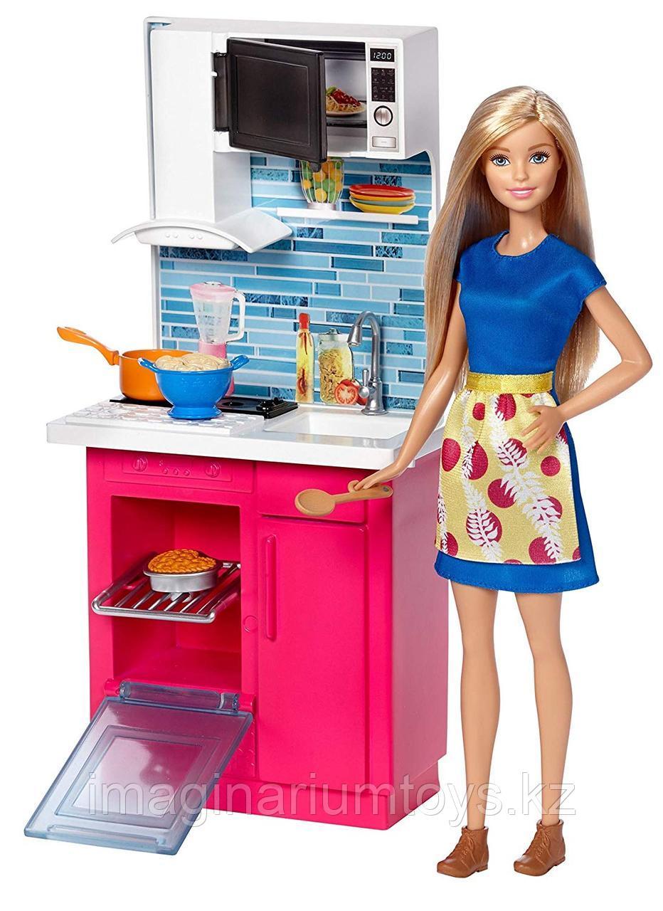 Игровой набор Barbie Кухня Барби