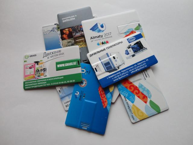 Флешка визитка 2, 4, 8, 16, 32, 64 гб в Астане
