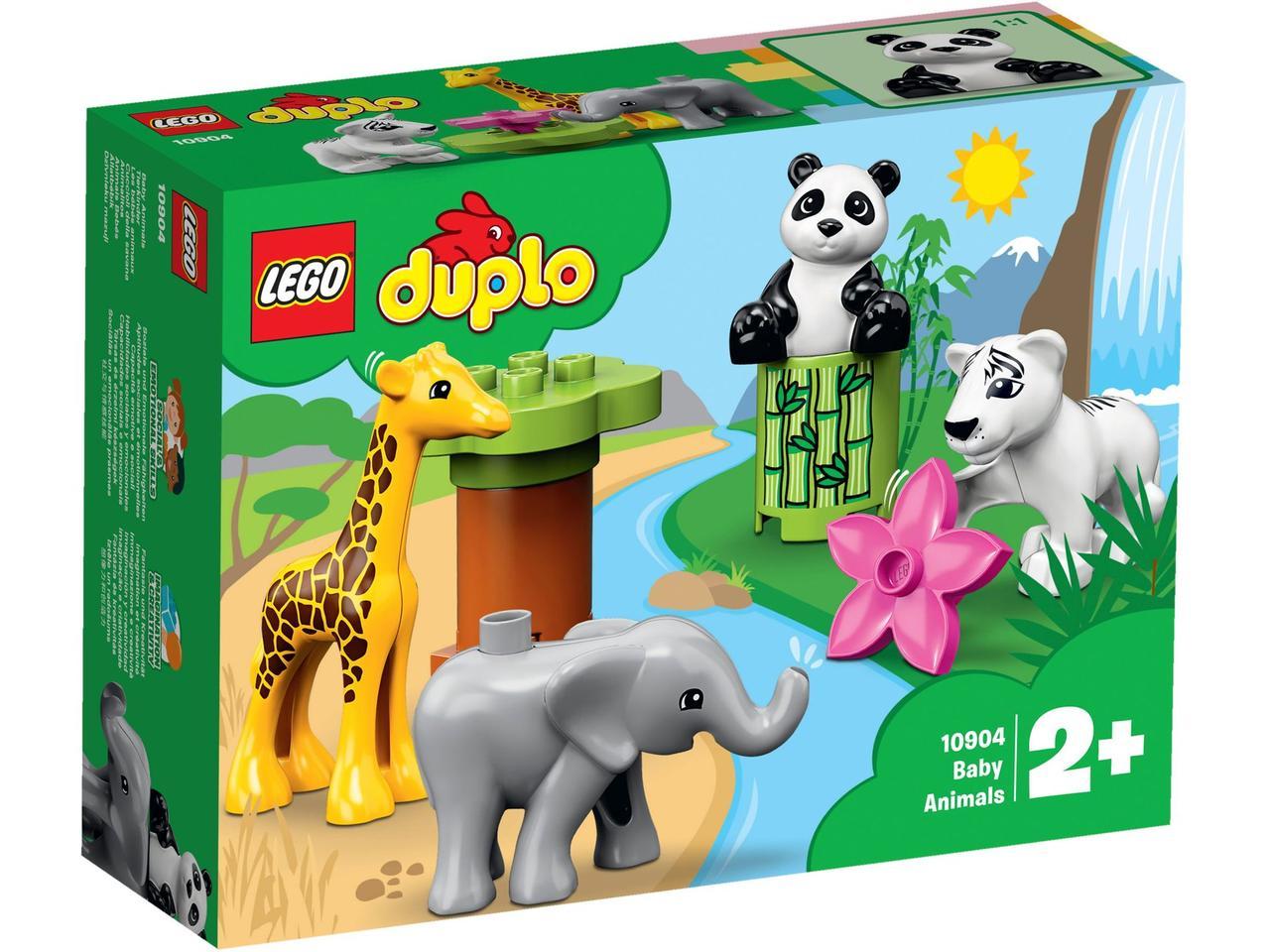 10904 Lego Duplo Детишки животных, Лего Дупло