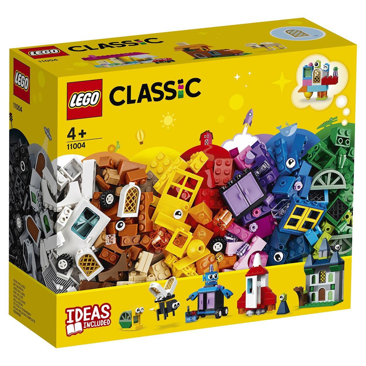 11004 Lego Classic Набор для творчества с окнами, Лего Классика
