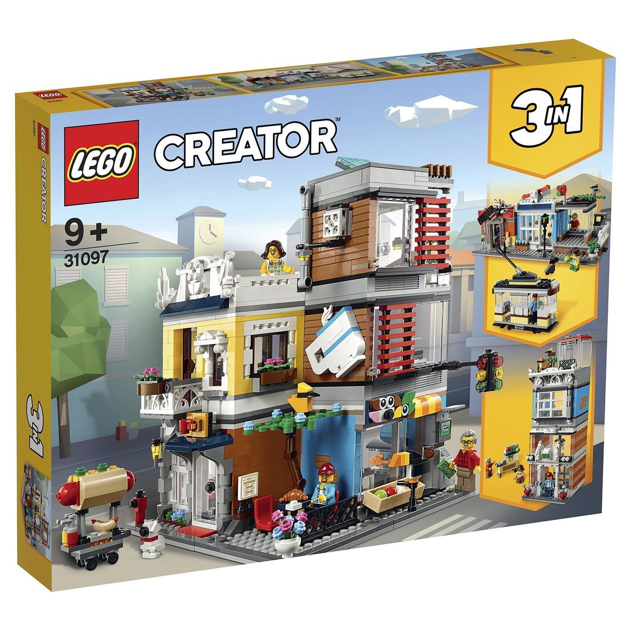 31097 Lego Creator Зоомагазин и кафе в центре Cityа, Лего Криэйтор