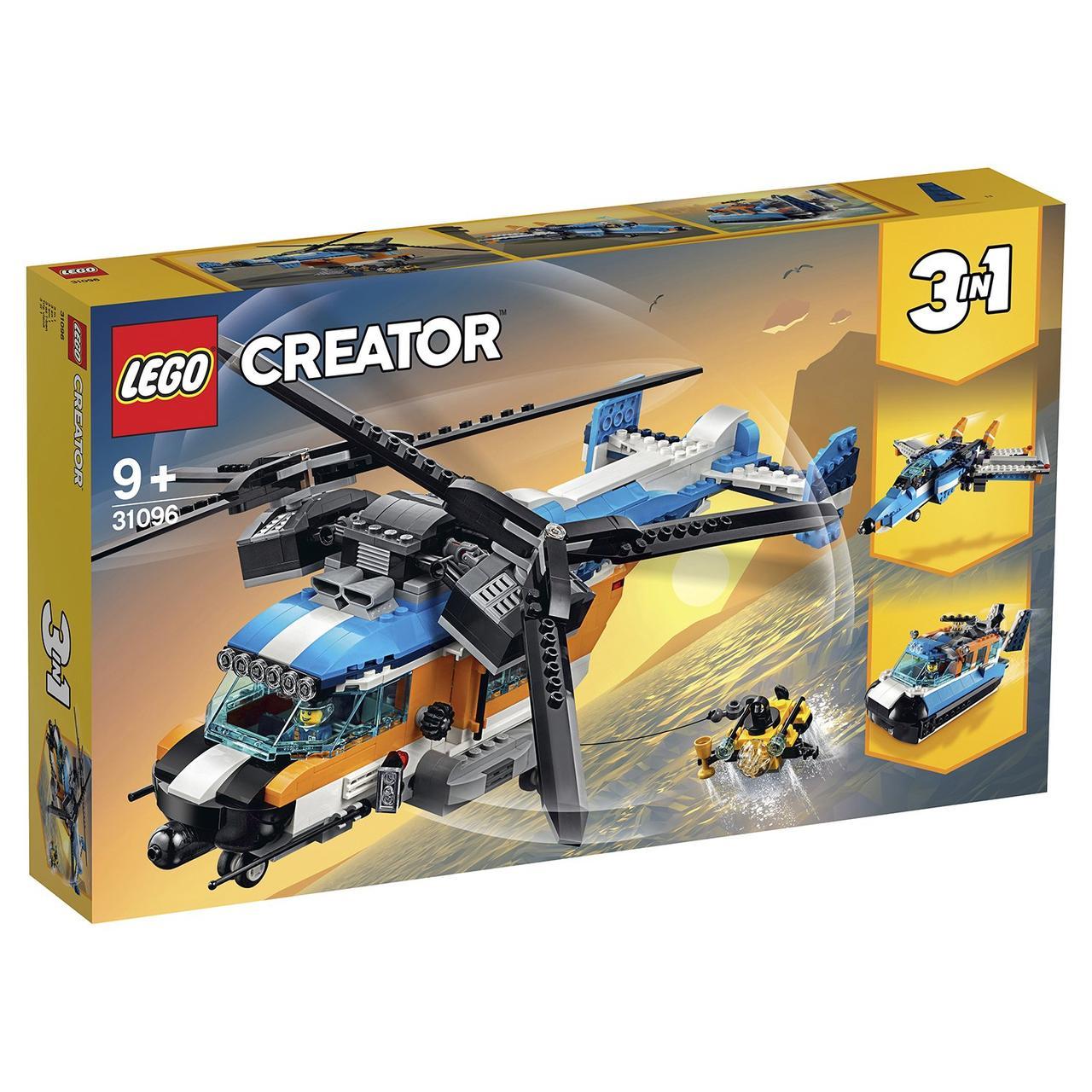 31096 Lego Creator Двухроторный вертолёт, Лего Криэйтор