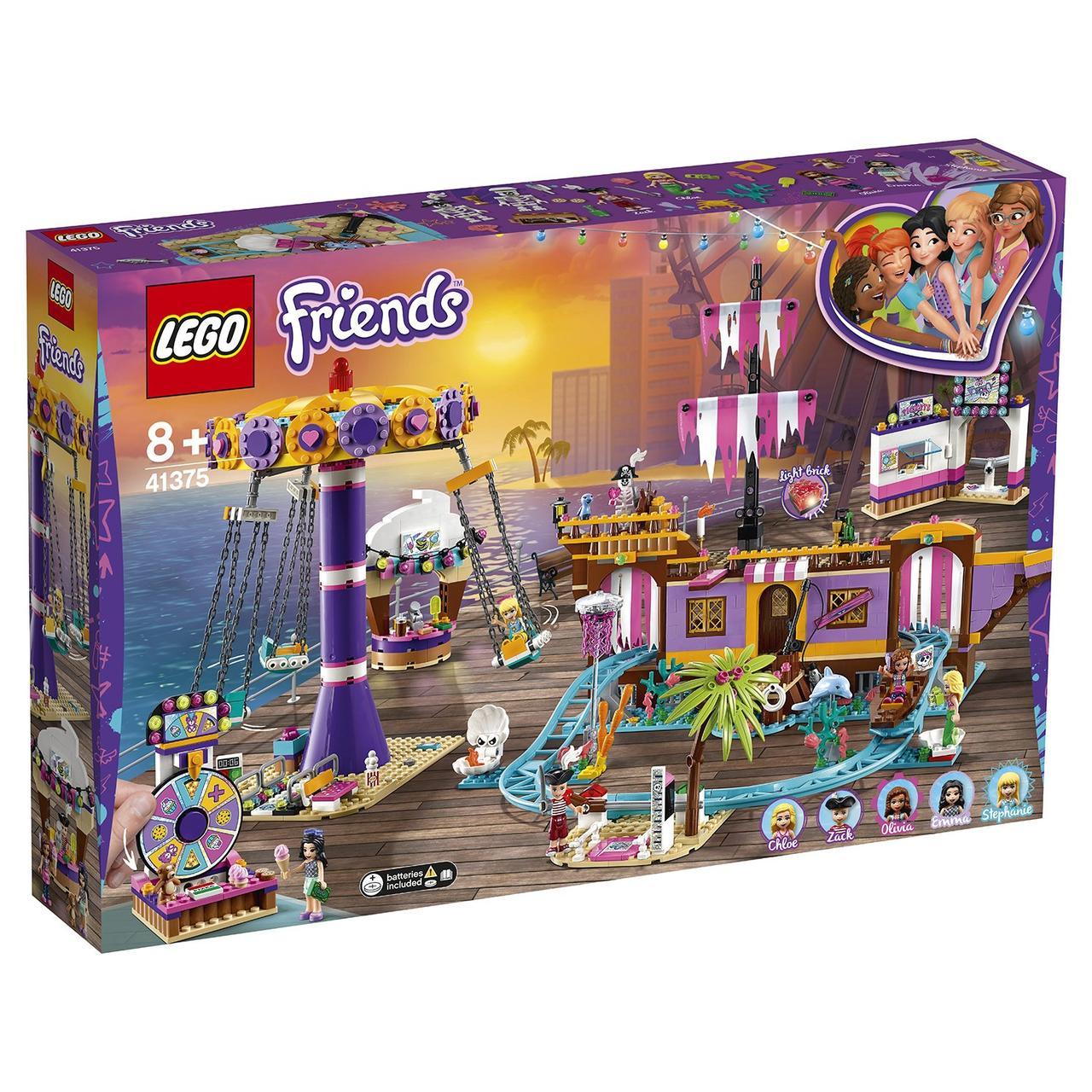 41375 Lego Friends Прибрежный парк развлечений, Лего Подружки