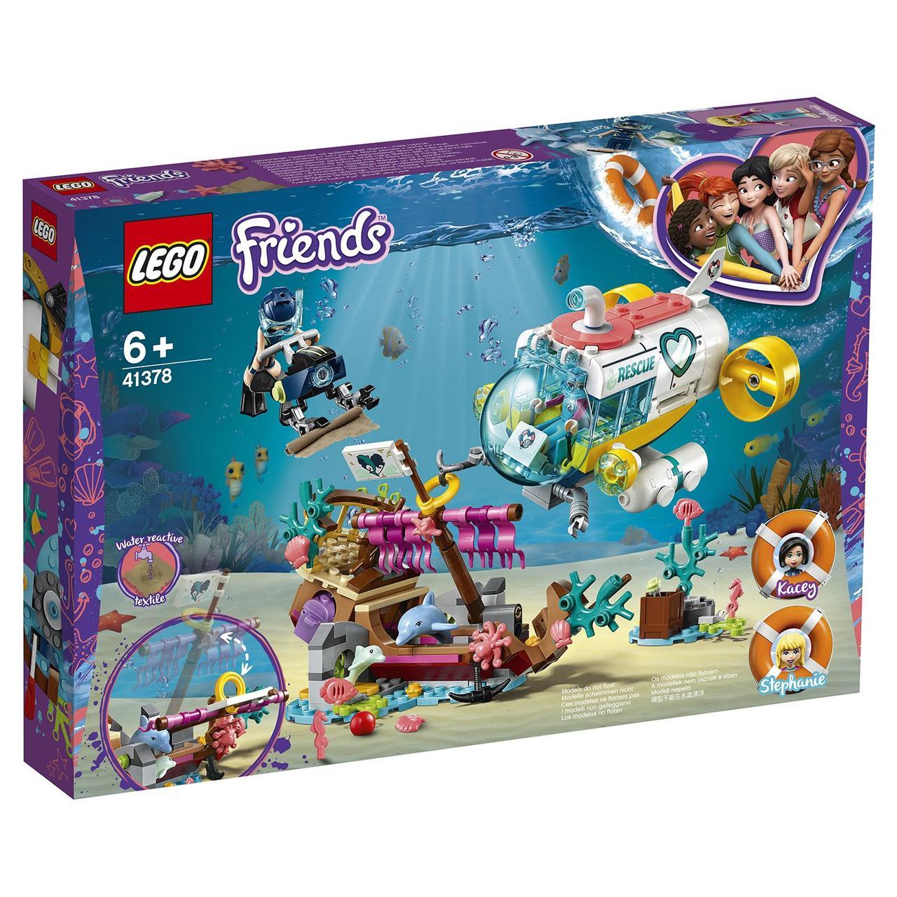 41378 Lego Friends Спасение дельфинов, Лего Подружки