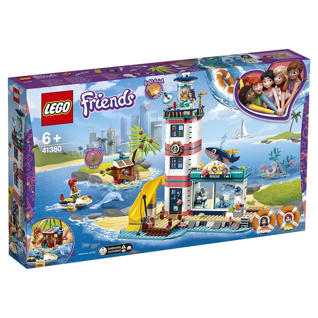 41380 Lego Friends Спасательный центр на маяке, Лего Подружки