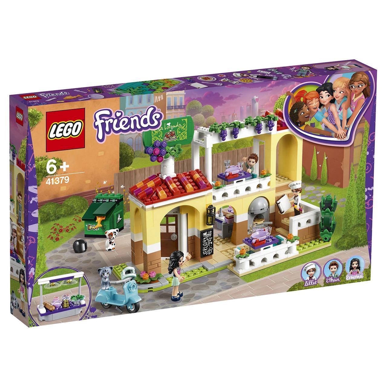 41379 Lego Friends Ресторан Хартлейк Сити, Лего Подружки
