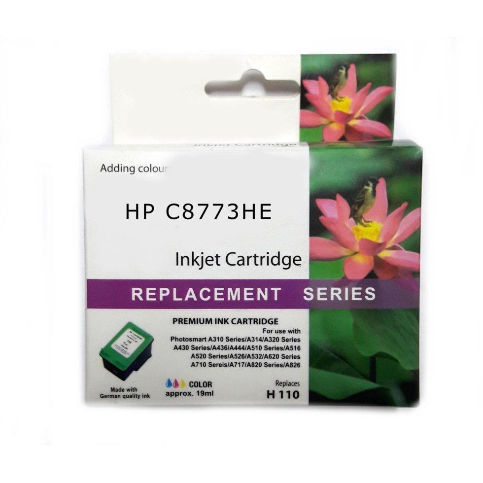 Картридж струйный JET TEK для HP CZ112AE (№655) Yellow