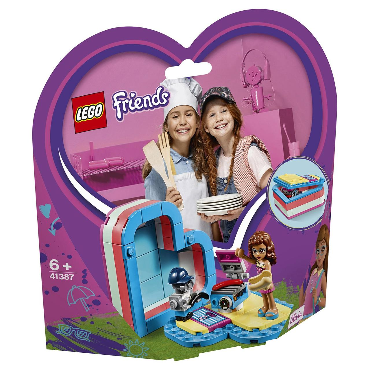 41387 Lego Friends Летняя шкатулка-сердечко для Оливии, Лего Подружки