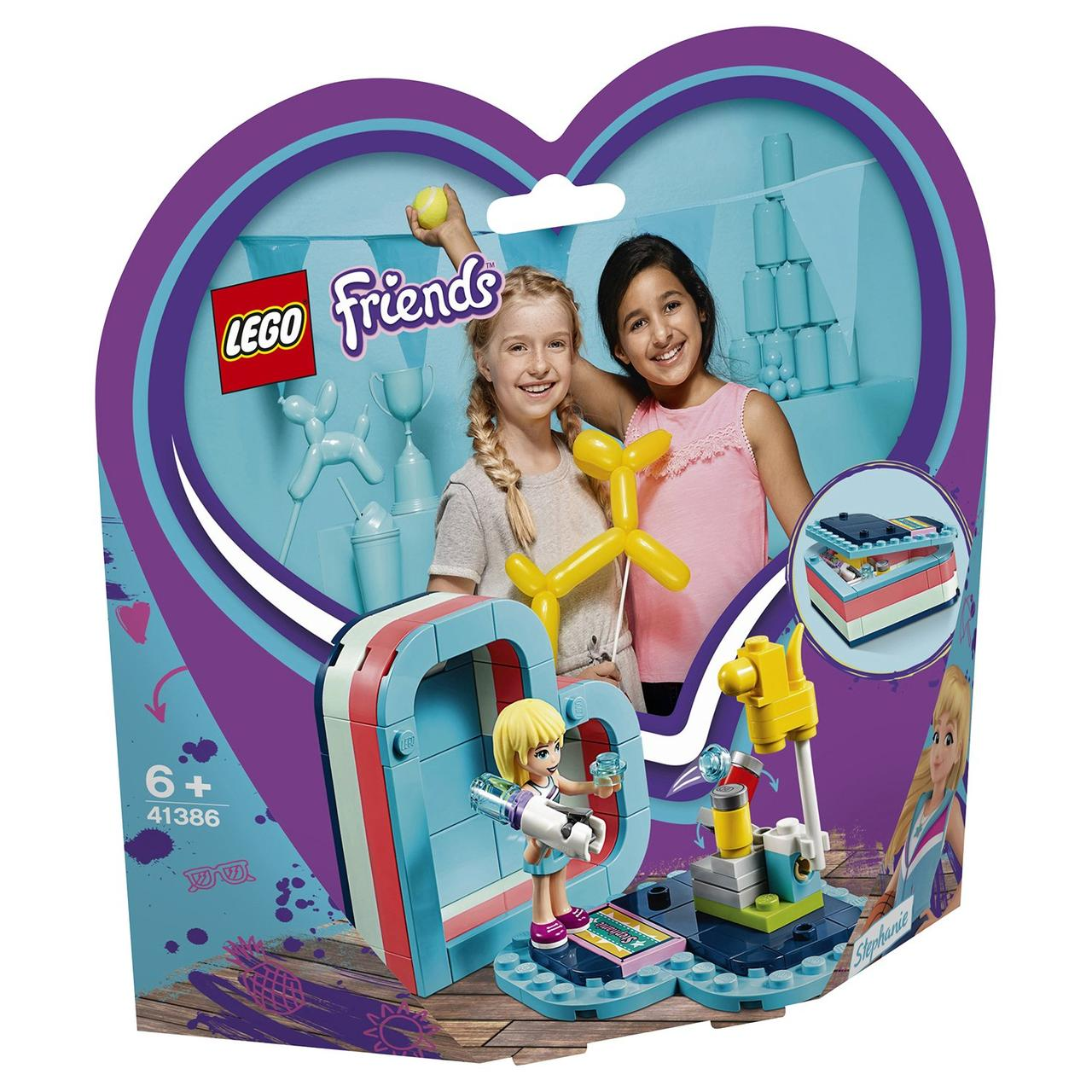 41386 Lego Friends Летняя шкатулка-сердечко для Стефани, Лего Подружки