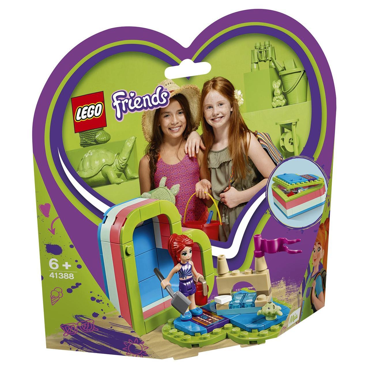 41388 Lego Friends Летняя шкатулка-сердечко для Мии, Лего Подружки