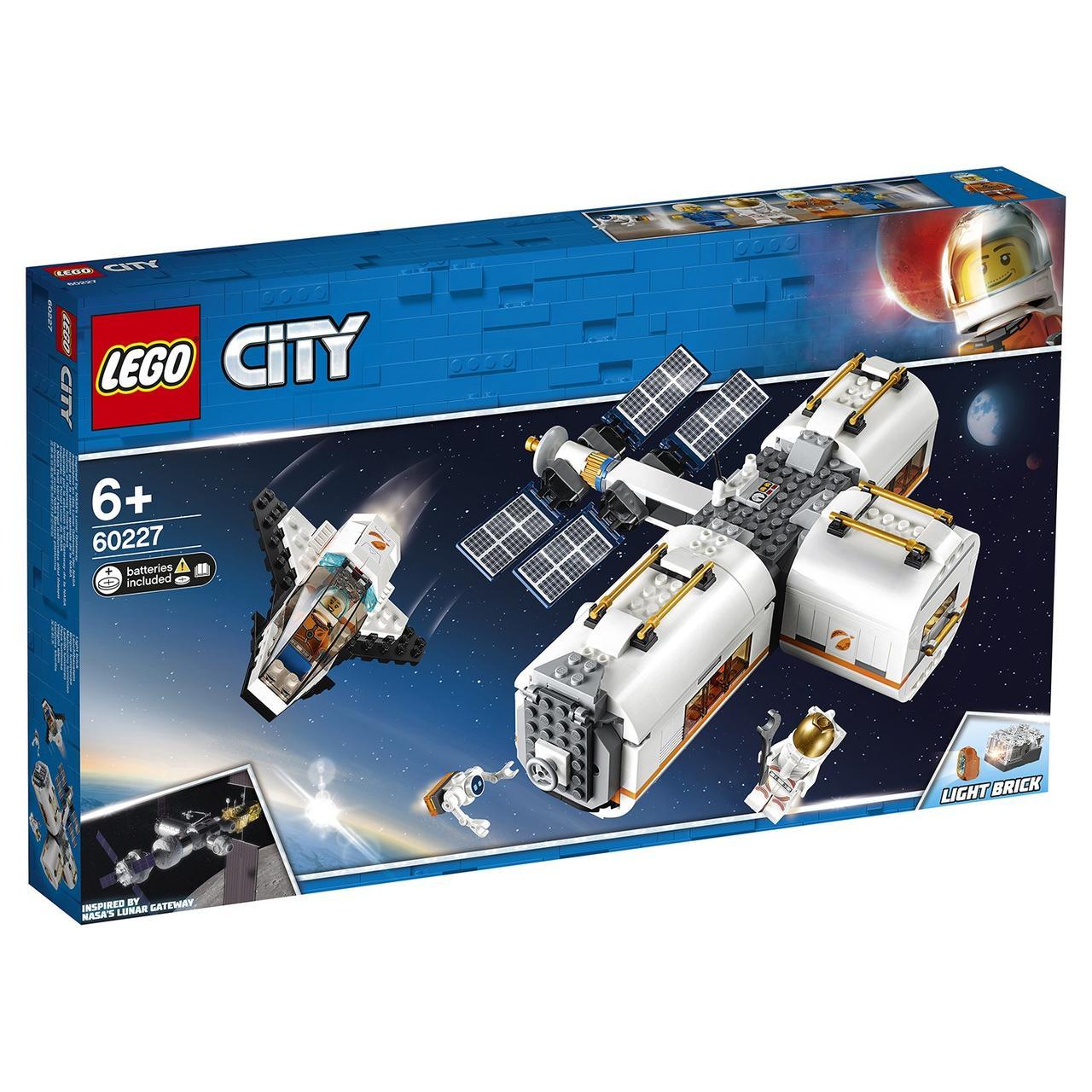 60227 Lego City Лунная космическая станция, Лего Город Сити