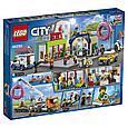 60233 Lego City Открытие магазина по продаже пончиков, Лего Город Сити, фото 2