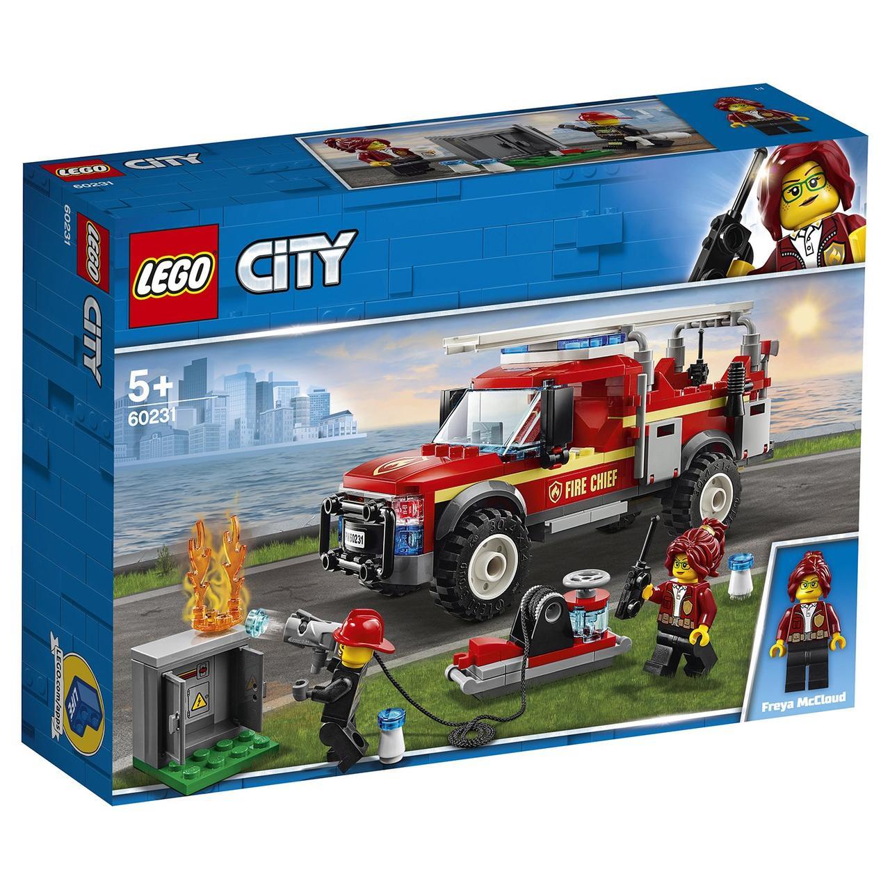 60231 Lego City Грузовик начальника пожарной охраны, Лего Город Сити