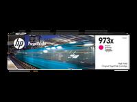 Картридж струйный увеличенной емкости HP 973X (F6T82AE) PageWide Magenta