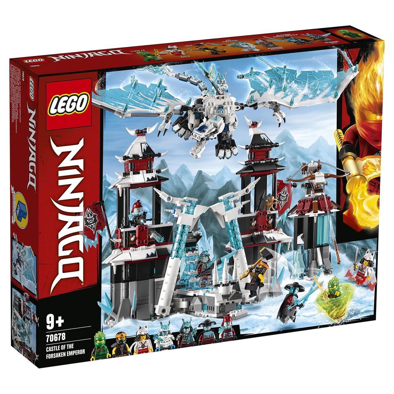 70678 Lego Ninjago Замок проклятого императора, Лего Ниндзяго