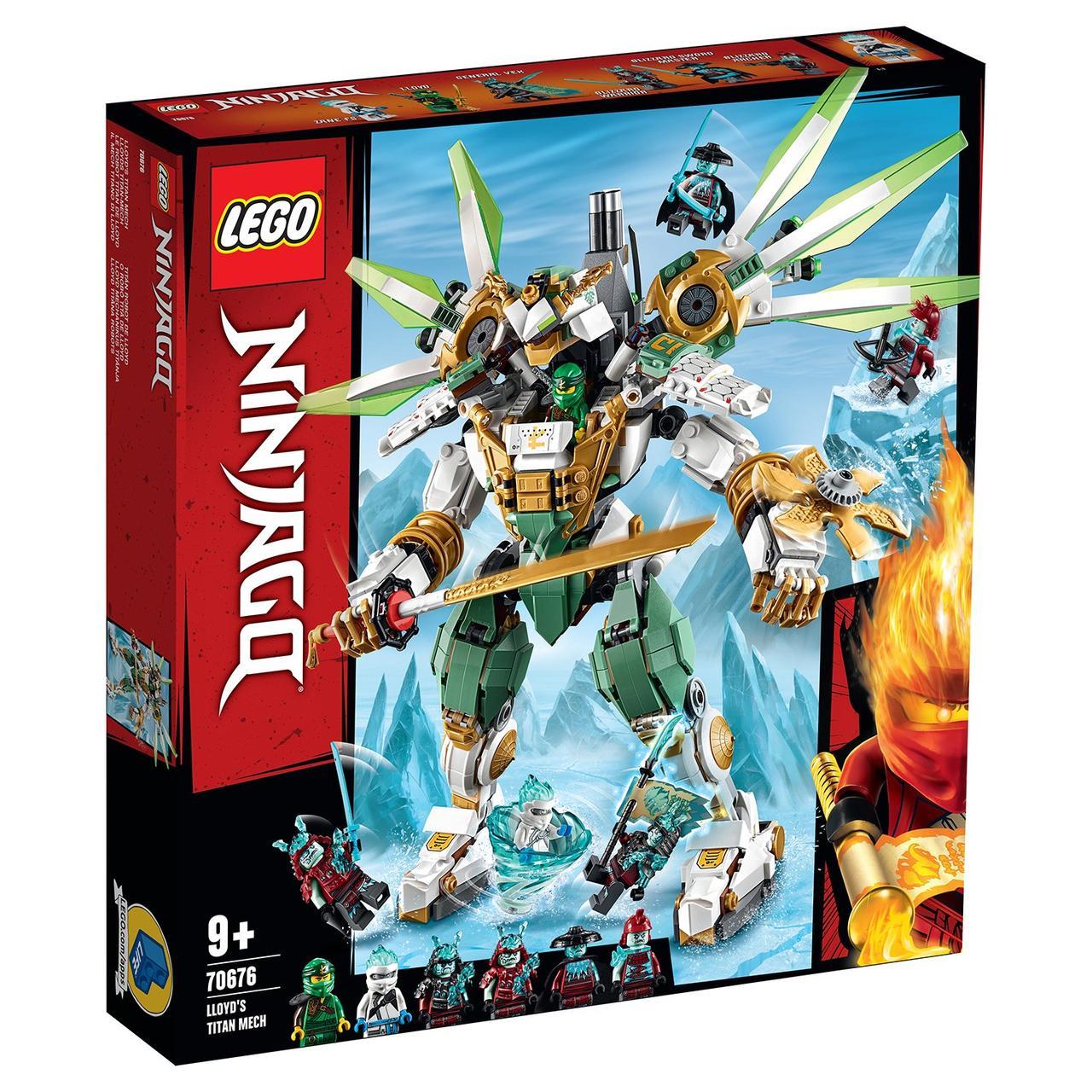 70676 Lego Ninjago Механический Титан Ллойда, Лего Ниндзяго