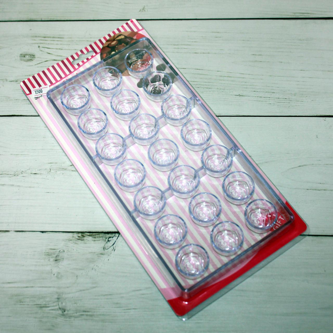 Форма для шоколада и конфет (пластиковая)