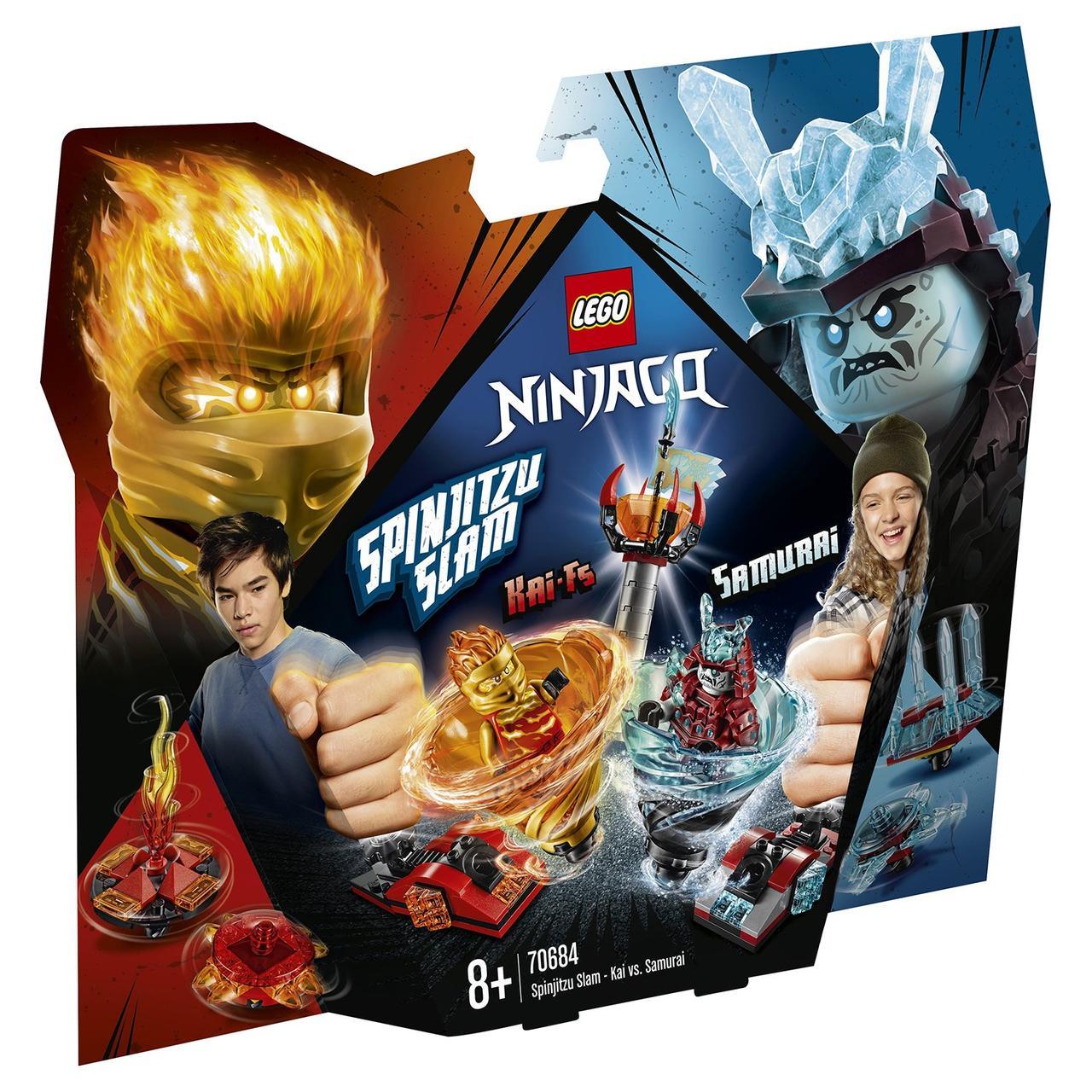 70684 Lego Ninjago Бой мастеров кружитцу — Кай против Самурая, Лего Ниндзяго