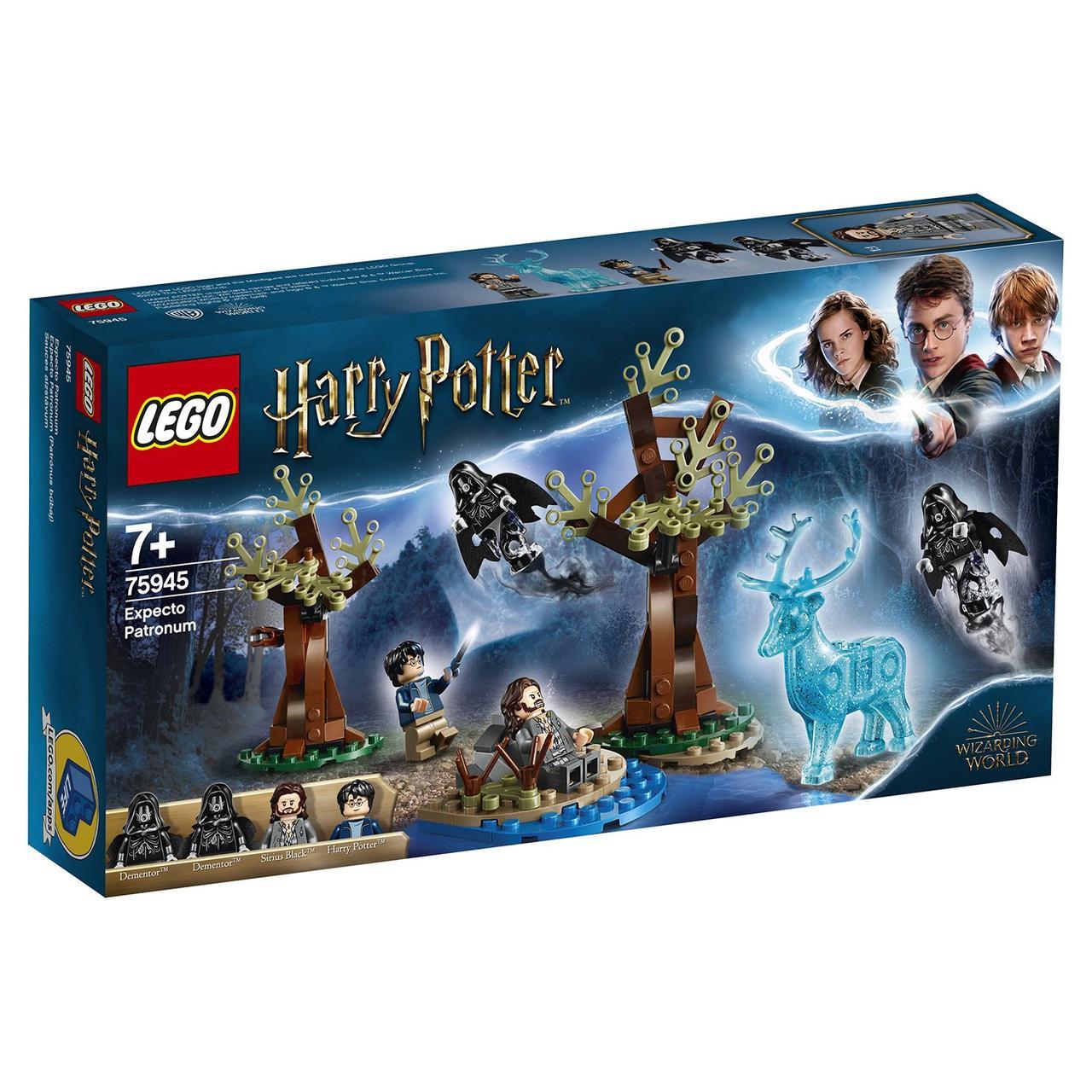 75945 Lego Harry Potter Экспекто Патронум!, Лего Гарри Поттер