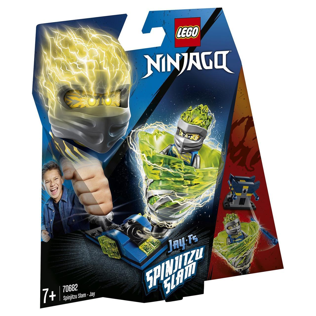 70682 Lego Ninjago Бой мастеров кружитцу — Джей, Лего Ниндзяго