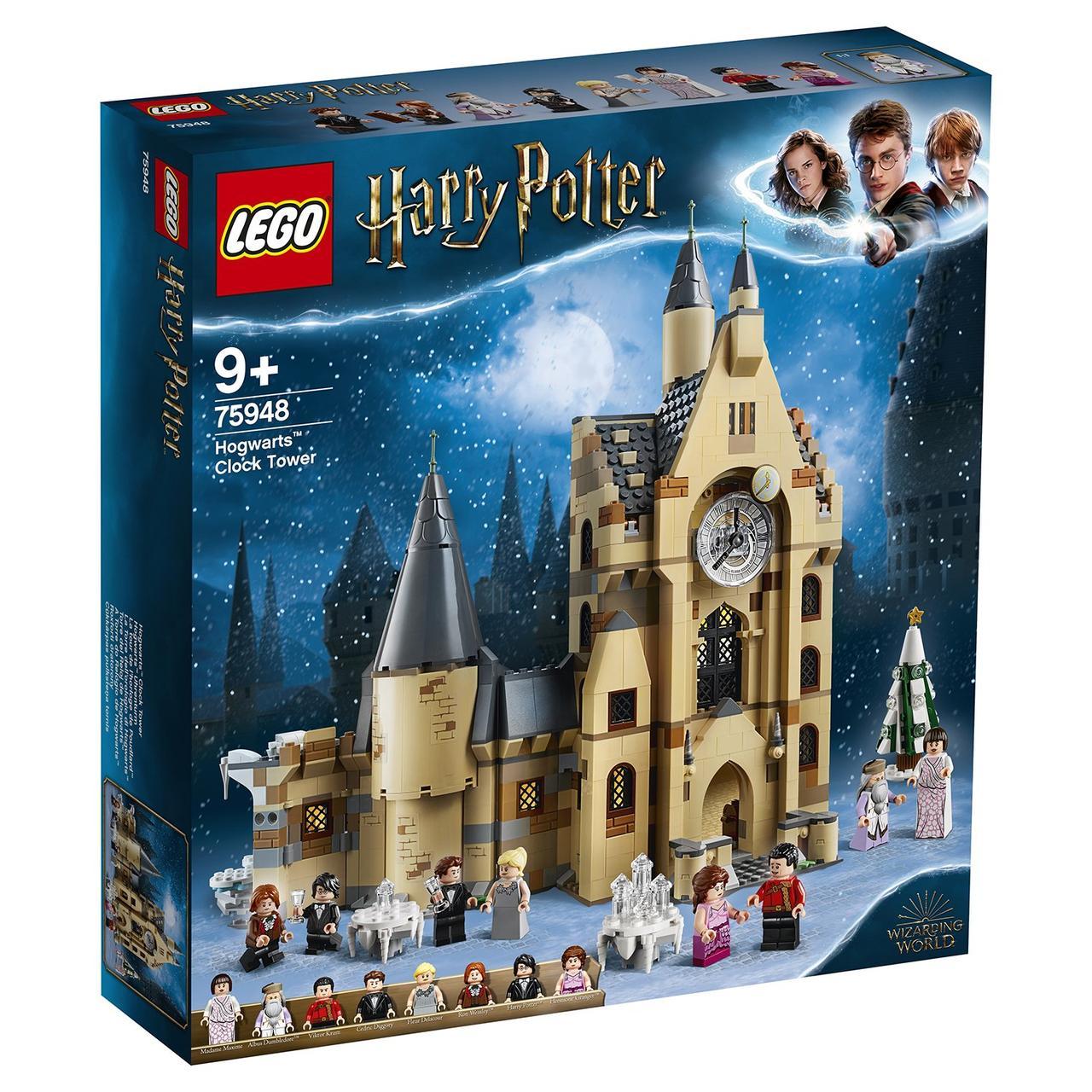 75948 Lego Harry Potter Часовая башня Хогвартса, Лего Гарри Поттер