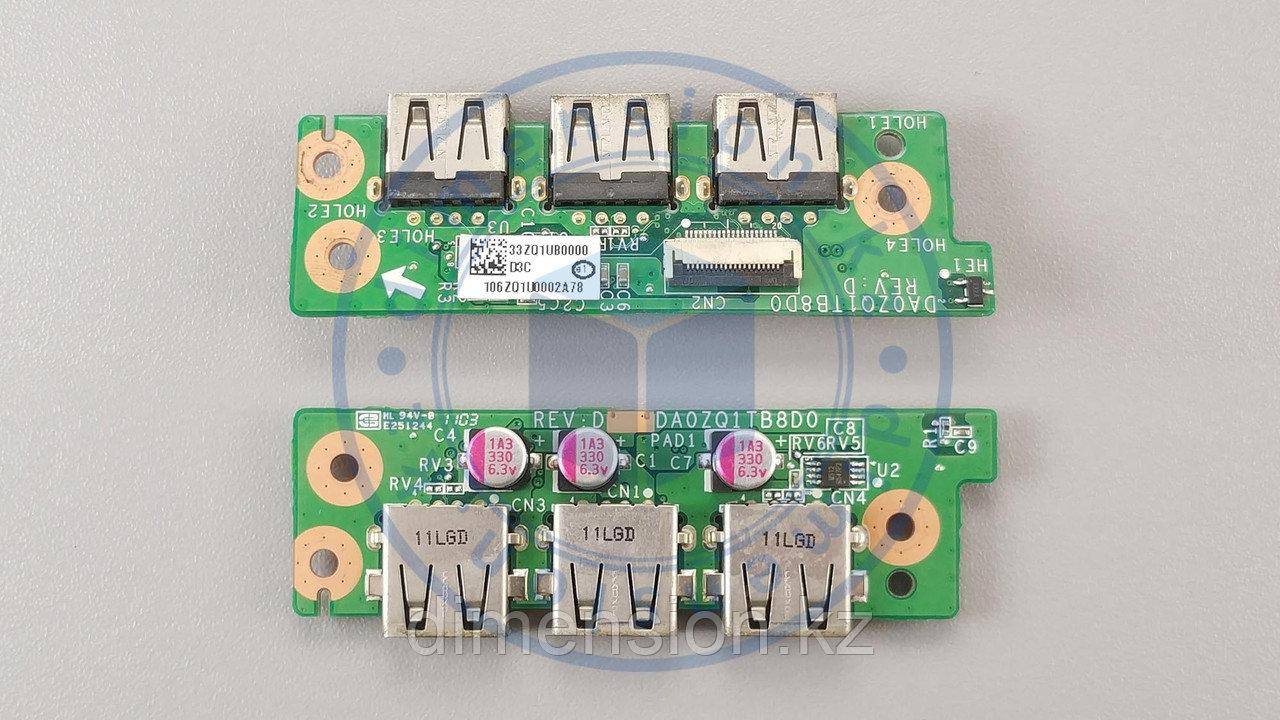 USB плата, порт, разъемы DA0ZQ1TB8D0 для ACER Aspire 4820T 4820TG 4820