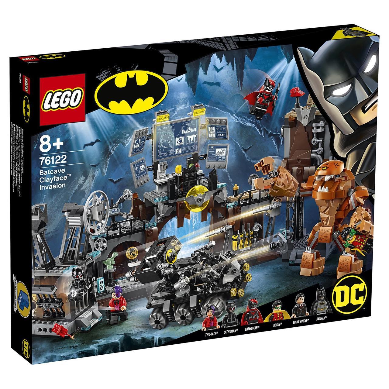 76122 Lego Super Heroes Вторжение Глиноликого в бэт-пещеру, Лего Супергерои DC