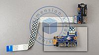 USB плата, порт, разъемы, кнопка включения LS-8865P для SAMSUNG NP350 NP350V NP355