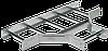 Разветвитель лестничный Т-образный 100х300 R300 IEK