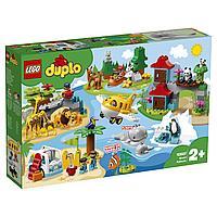 10907 Lego Duplo Животные мира, Лего Дупло