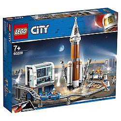 60228 Lego City Ракета для запуска в далекий космос и пульт управления запуском, Лего Город Сити