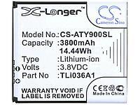 Заводской аккумулятор для Роутера Alcatel Link Y900 (TLi036A1, 3800 mAh)