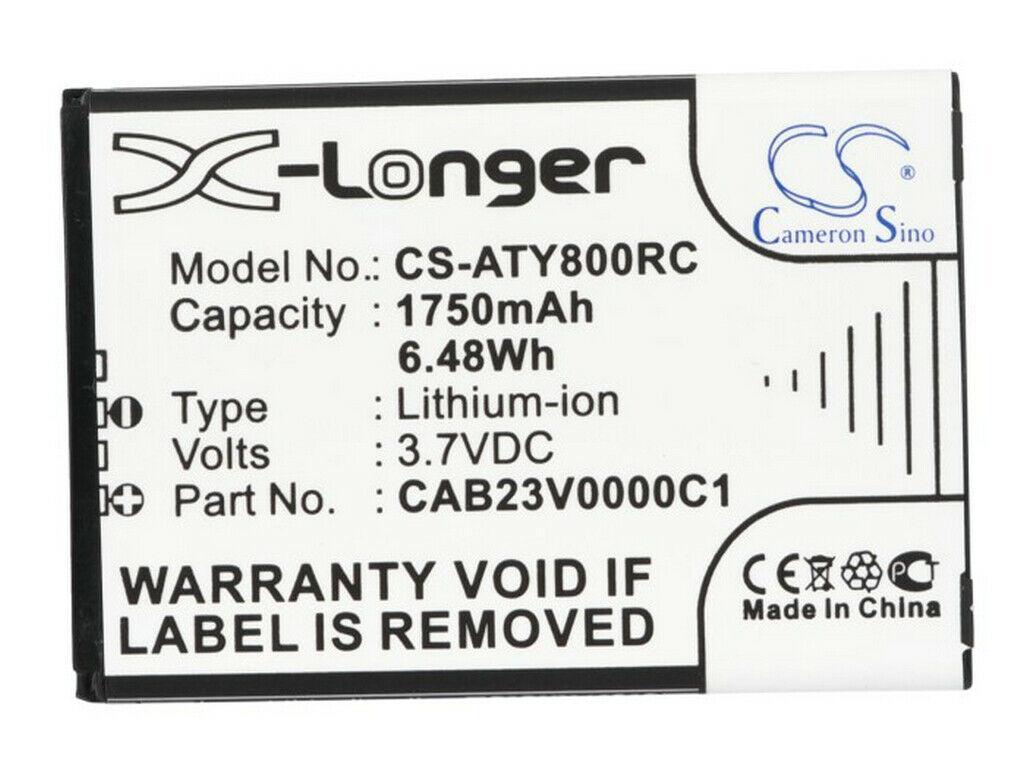 Заводской аккумулятор для Роутера Alcatel Link Y800 (CAB23V0000C1, 1750 mAh)