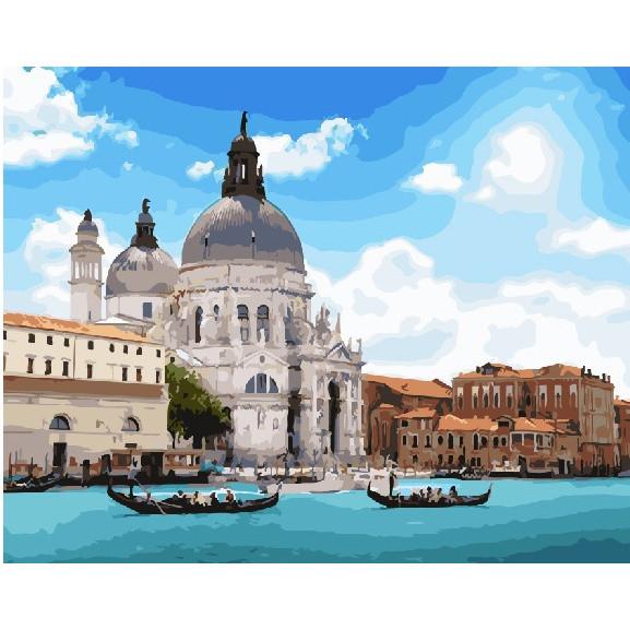 """Картина по номерам """"Удивительная Венеция"""""""
