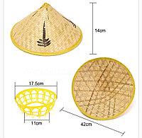 Соломенная шляпа, бамбуковая (вьетнамская), фото 1