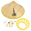 Соломенная шляпа, бамбуковая (вьетнамская)
