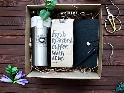 """Подарочный набор """"Кофе с собой"""""""