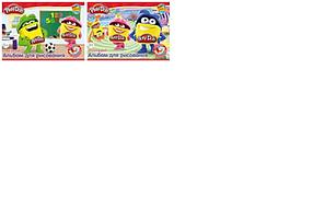 Альб д. рис 20л Клей А4 с раскрасками PD5/2-EAC полн УФ лак Play Doh