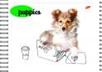 """Альб д. рис 24л Wсп картон 205*290 8427/2-EAC лен, ВД лак """"Puppies (щенки)"""""""
