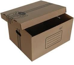 Архивный короб 333x285x390 мм. (внутр), картон