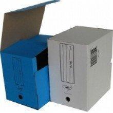 Архивный короб, 320х260х200, картон, белый