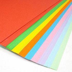 "Бyмага цветная ""Радуга"" формат А4, пл-ть 80 гр/м2, 100 лист/пач, НЕОН , 5 цветов в упаковке"