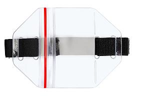 Бейдж нарукавный 58х110 вертикальный