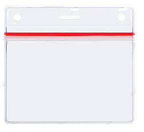 Бейджи горизонтальный с застежкой Zip-Lock 90х60
