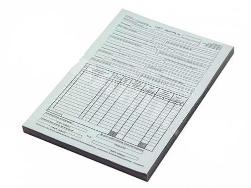 """Бланк """"Счет-фактура для юридических лиц"""", А4, 1 слой, 100 штук в пачке, фото 2"""